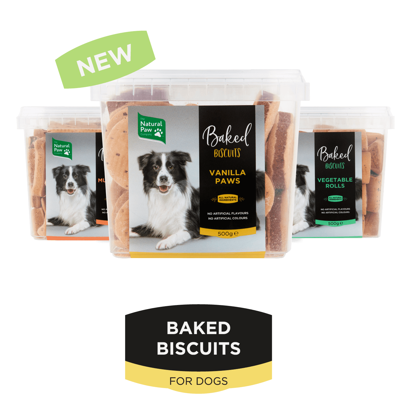 The Natural Paw Company Baked Dog Biscuits