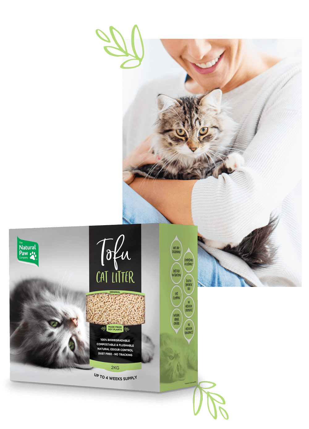 The Natural Paw Company ~ Tofu Cat Litter