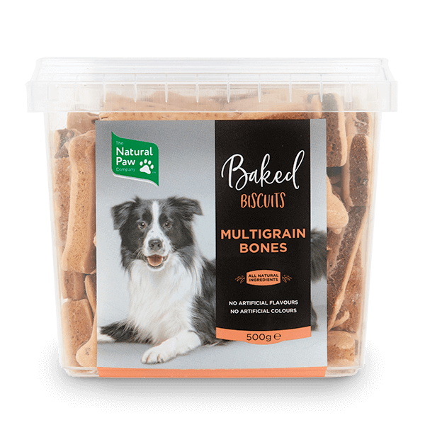 Natural Baked Dog Biscuits