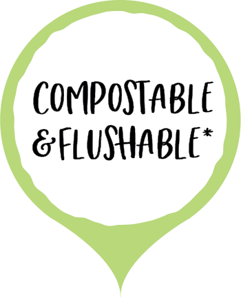 Compostable and Flushable